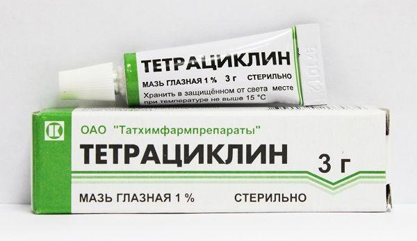 Maść tetracykliny dla kotów w leczeniu chorób oczu